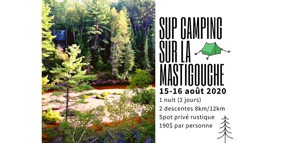 SUP Camping sur la Mastigouche