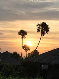 Lever de soleil à Roatan