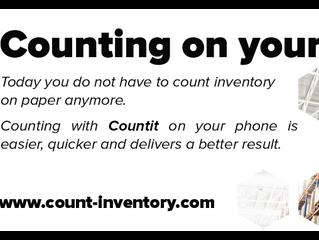 Benefits using Countit