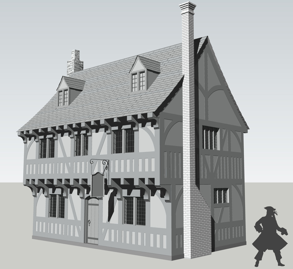 Period House 3D Model