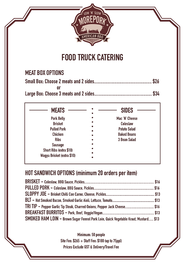 food truck catering auckland