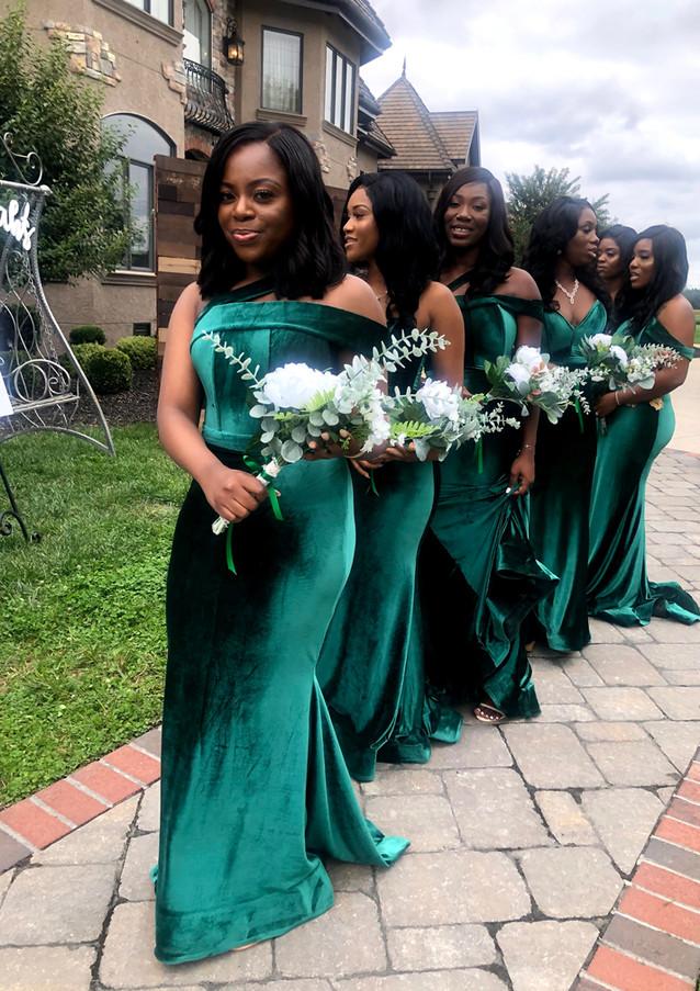 Sam + Lusu's Bridal Team