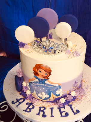 Sophia the First Birthday Cake
