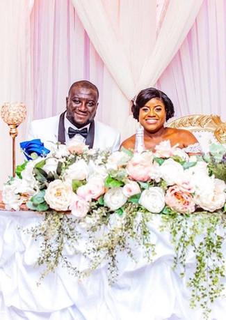 Rosey Wedding High Table