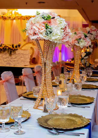 Floral Wedding Reception