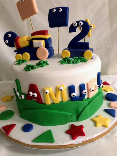 Shapes Birthday Cake