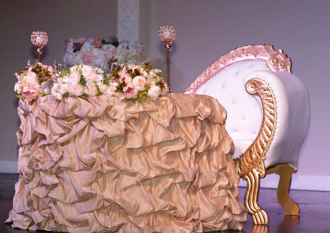 The Bridal High Table