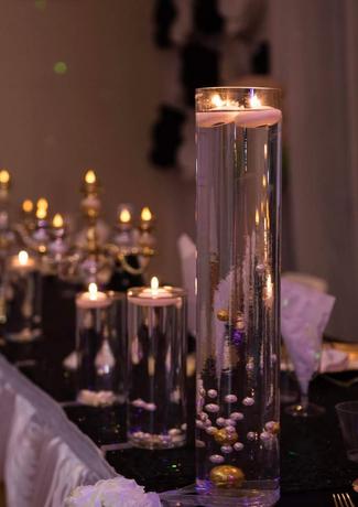 Candle Lit Tabletop Motif