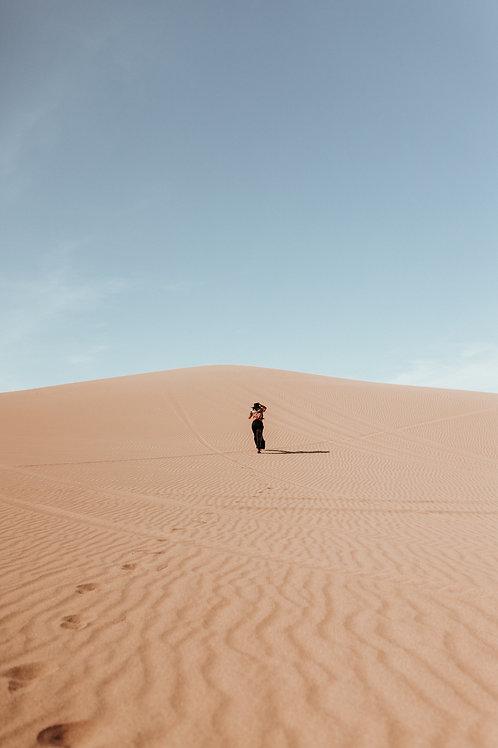 Running Through The Sand Dunes