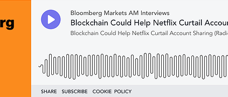 Blockchain Could Help Netflix Curtail Account Sharing