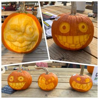 """Pumpkin """"Sculptures"""""""