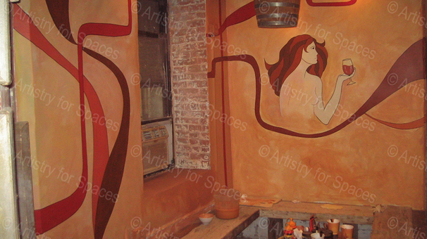 Bar/Restaurant Mural