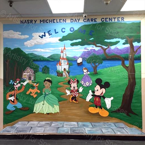 Mural for Nasry Daycare Center