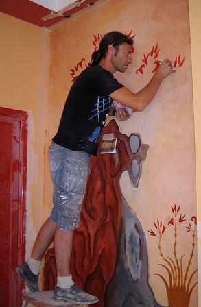 Mural for Minoan Park