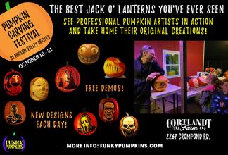 Let a Professional Carve Your Pumpkin!