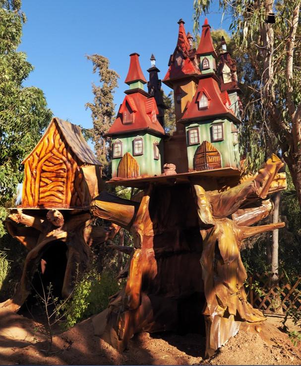 Fairytale Tree and Treehouse