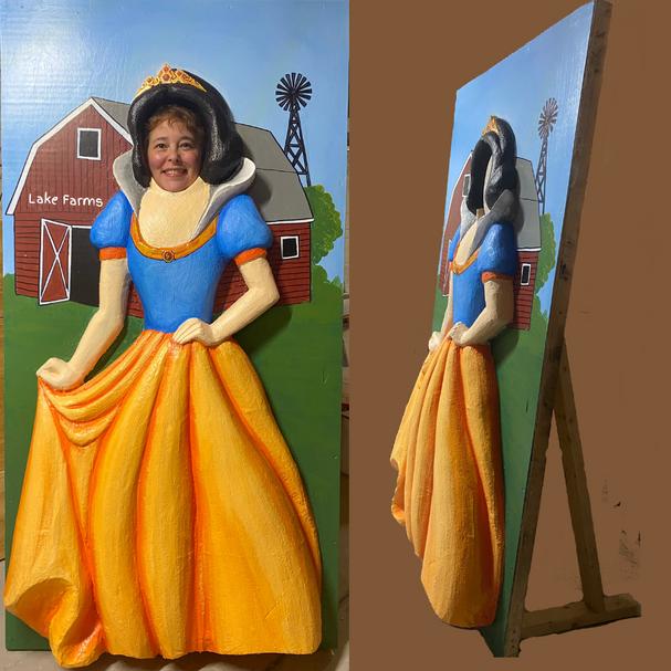 Snow White 3-D Photo Opp