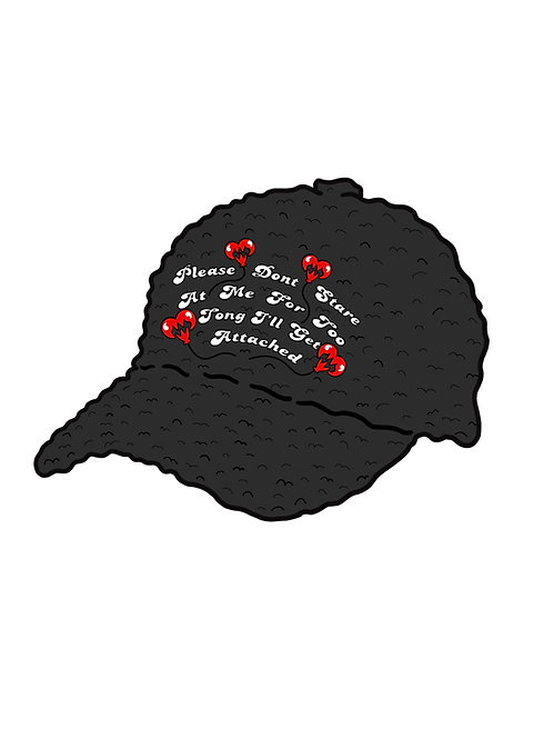 DON'T STARE SHERPA HAT.