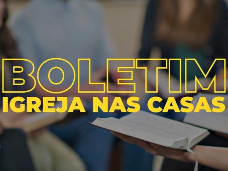 Boletim - 15 de março de 2020
