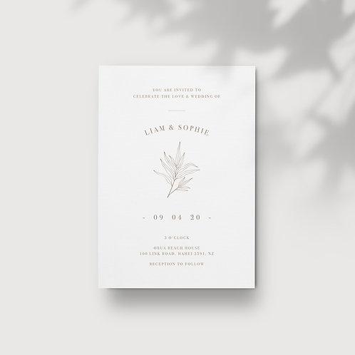 Botanical - Invitations