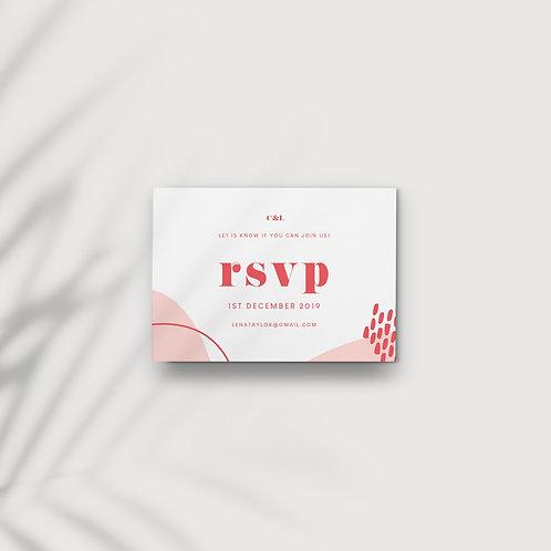 Tutti Frutti - RSVP Card
