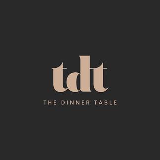 Logo design for @thedinnertablenz Coming