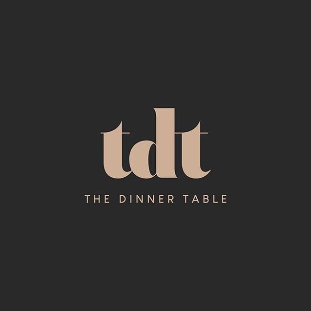 Logo design for @thedinnertablenz Coming