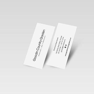Business cards for @goodincountrygarden