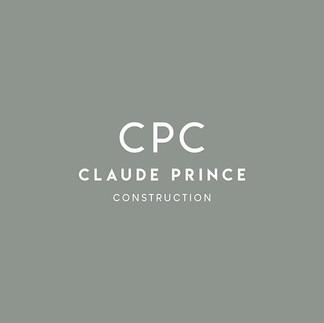 Logo design for @claudeprinceconstructio