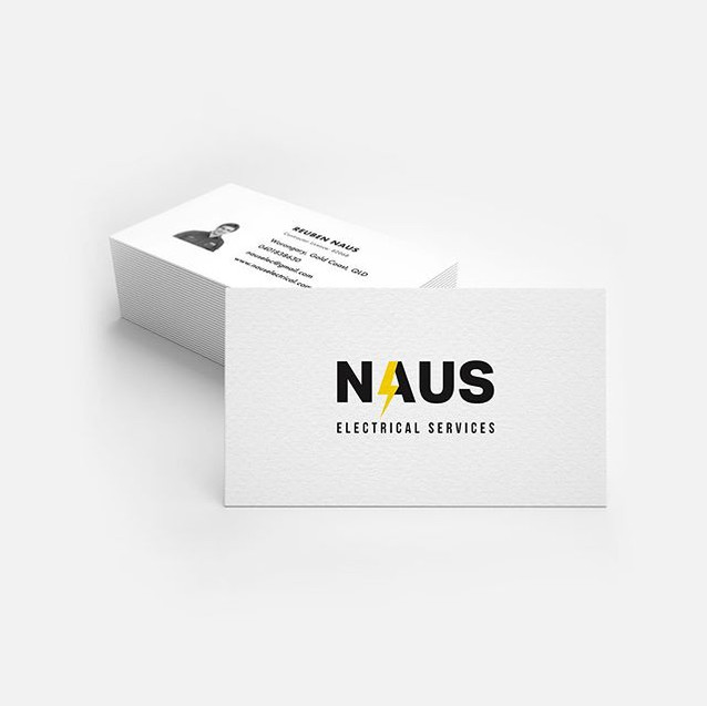 Business Card Design for @naus_electrica