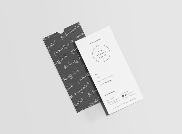 Voucher Design for @the.beauty.colab . .