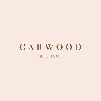 Logo design for @garwoodboutique Opening