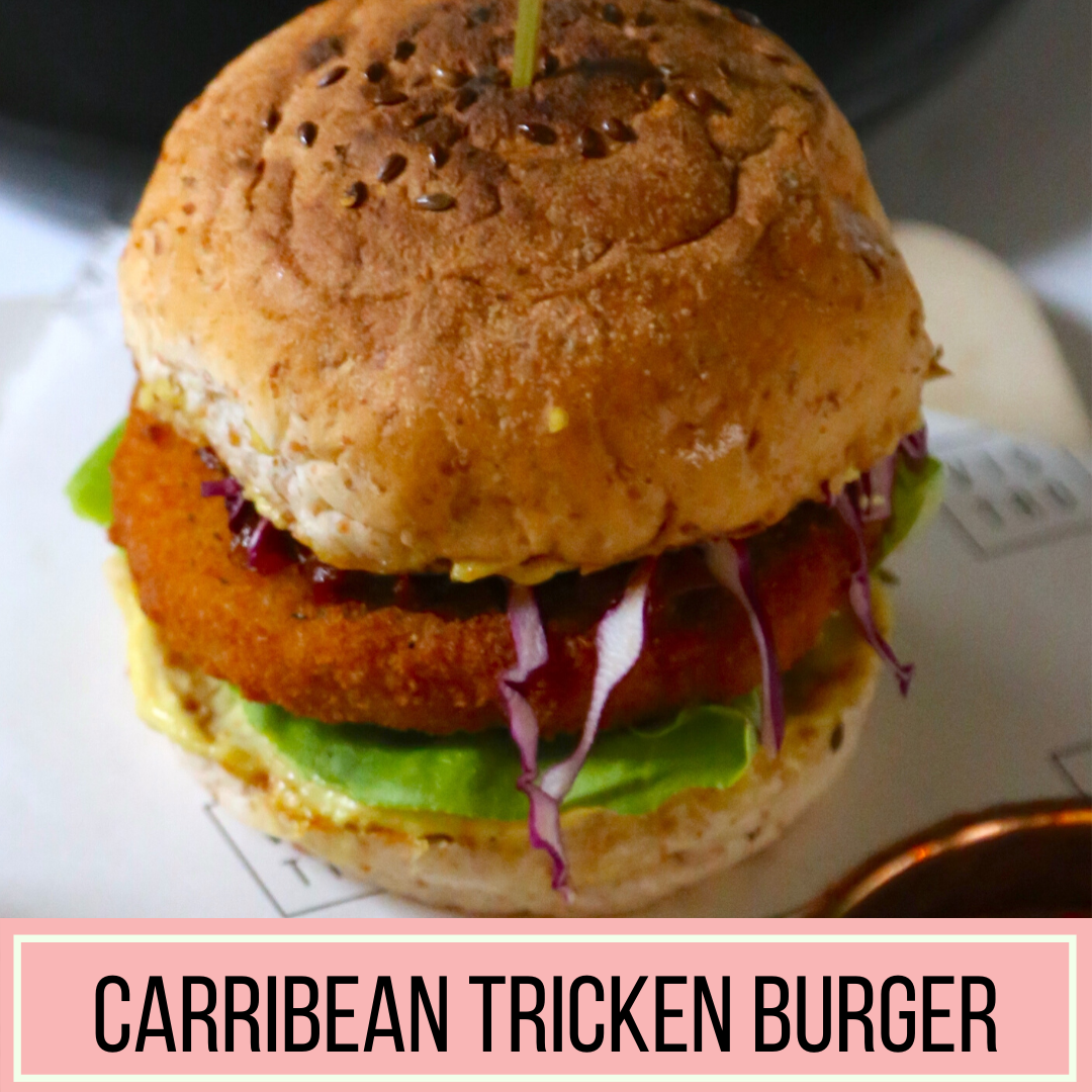 Carribean Tricken Burger