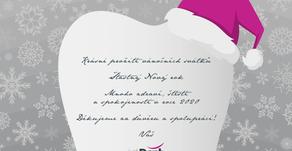Veselé Vánoce a šťastný rok 2020!