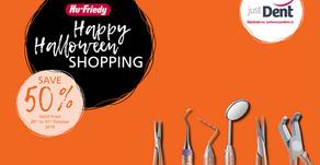 Hu-Friedy Happy Halloween Days s 50% slevou