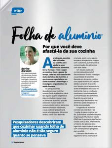 Artigo Publicado na Revista dos Vegetarianos, Junho/2020