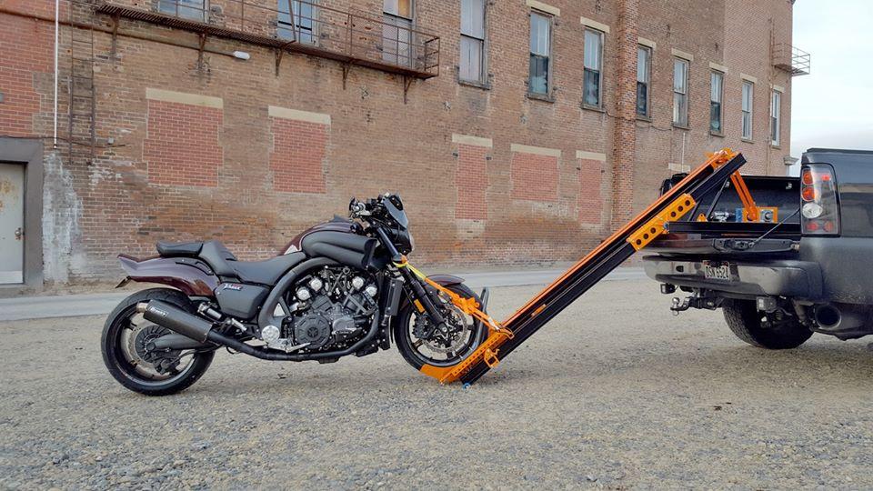 Rampe moto Portéos