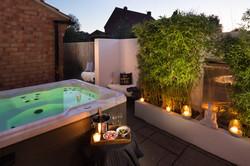 Birch House-night shot-hot tub Oct18
