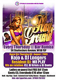 Every Thursday Dante Legister was resident dj for G Parties at Bar Rumba