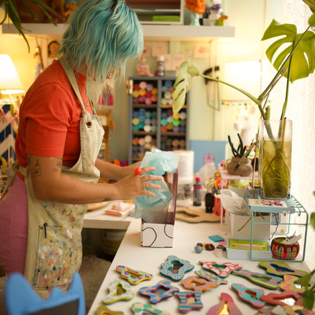 The Role Of Artists With Alecia Vera Buckles