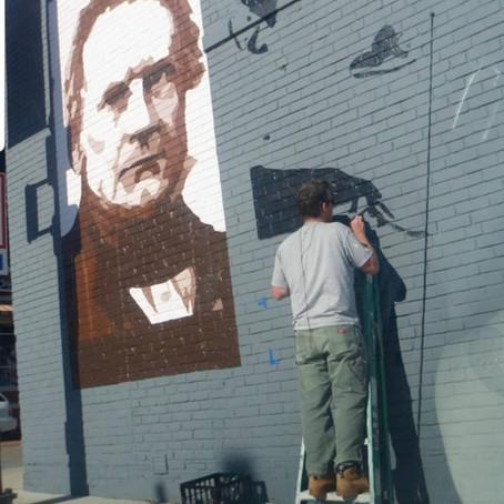 "Kevin Bate: Muralist ""Changes The Perception"" Of His Neighborhood"