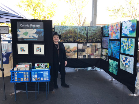 Meet Connie Roberts: 80 Paintings In 100 Days