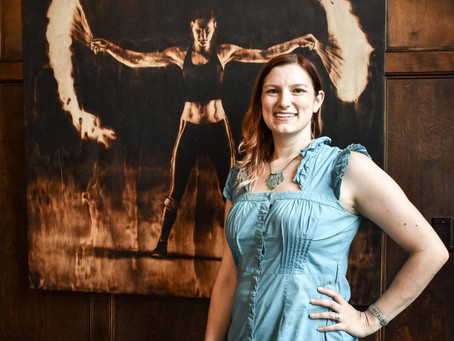 From Ashes: How Hollie Berry Uses Fire To Create