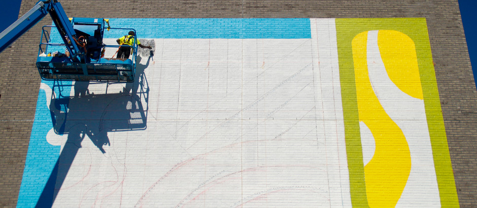 Painting the Town: Alecia Vera Buckles, Briah Gober, and Chattanooga's Newest Mural
