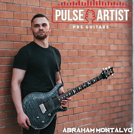 Local artist Abe Montalvo chosen for PRS endorsement program