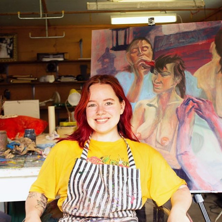 Larkin Cook Dismantles and Constructs Femininity Through Her Art