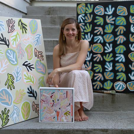 Hannah Myers: Building Community Through Abstract Art