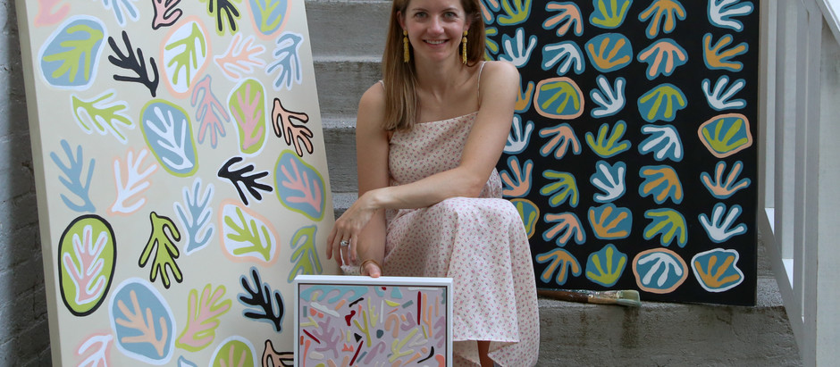 Hannah Myers: Building Community Through Abstract Art