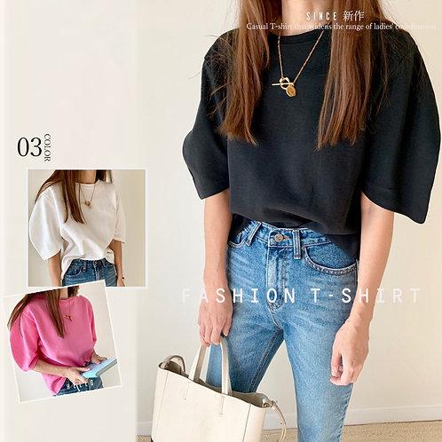 パフスリーブTシャツ s0327
