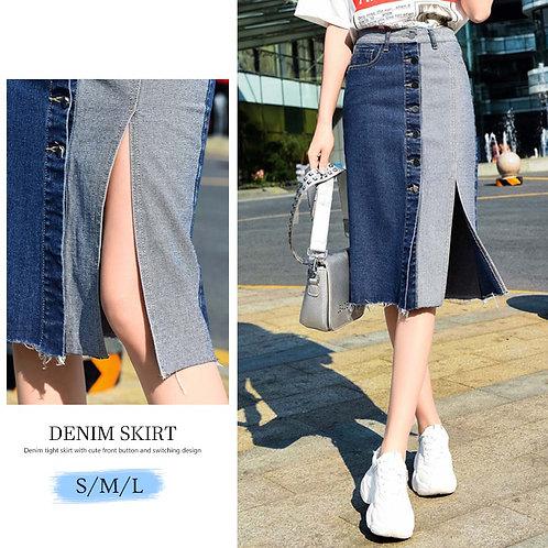 デニムスカート s0158